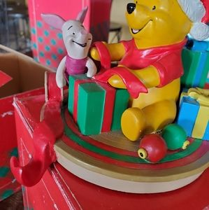 🎄Winnie the Pooh and Piglet stocking holder!
